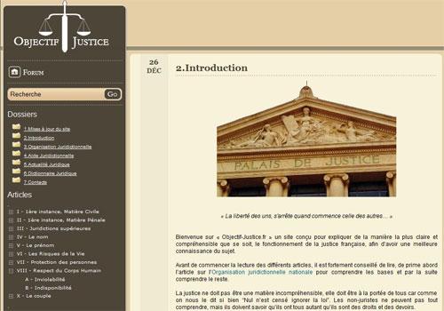 Objectif-Justice.fr V1.1