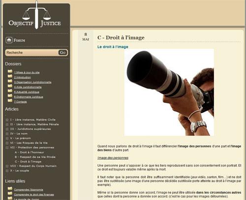 Objectif-Justice.fr v1.2